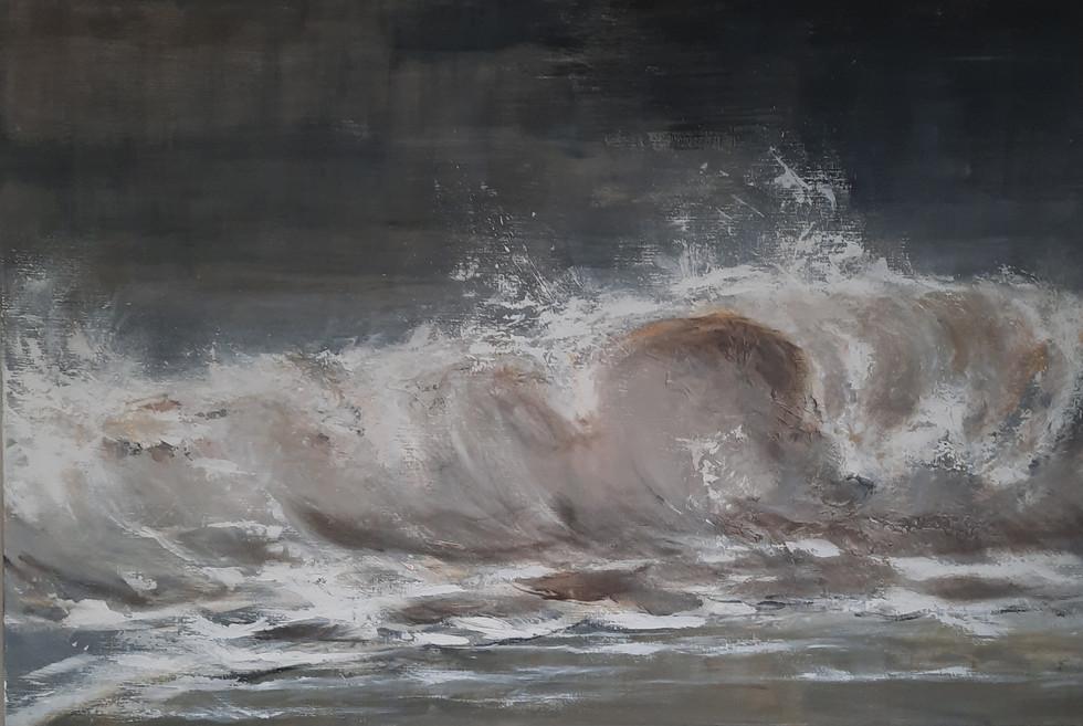 Rolling wave 100 x 150 cm