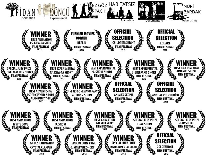 Ödüller, film festivalleri