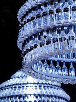 flessenlamp voor Eristoff vodka