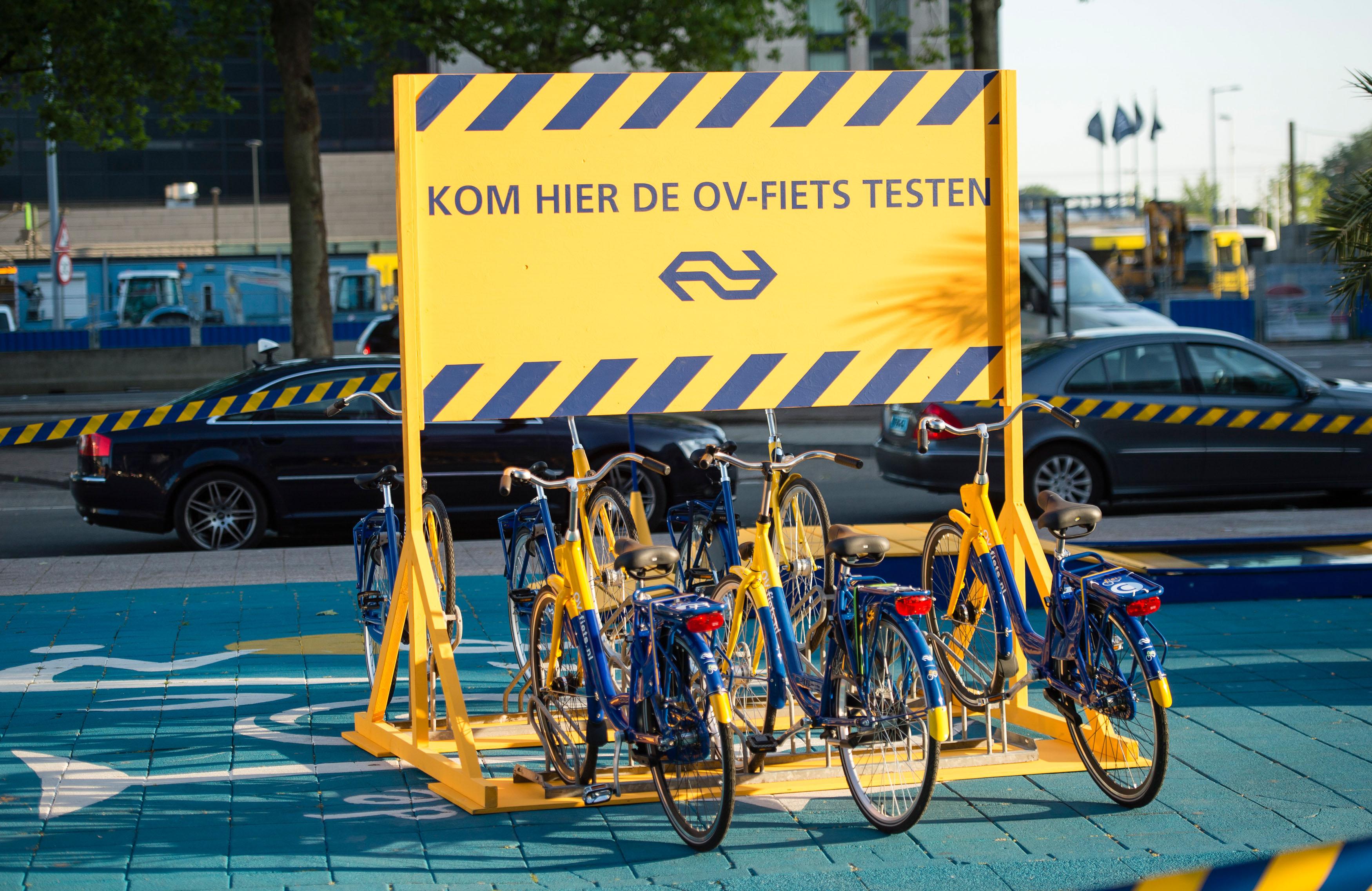 NS OV fiets testparcours