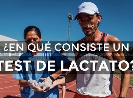 ¿En qué consiste la prueba de lactato?