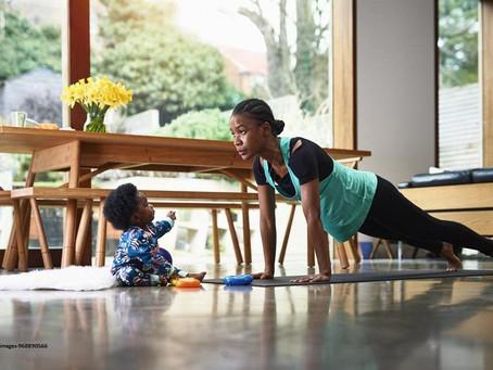 Sanos en casa – Actividad física