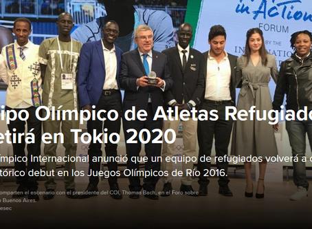 Equipo de atletas refugiados competirá en Tokio 2020