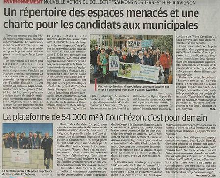 Conf de presse du 28 fevrier La Provence