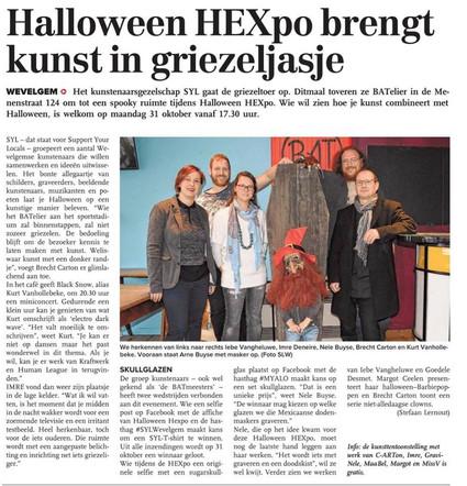 Halloween Hexpo brengt kunst in griezeljasje