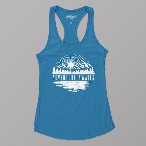 Adventure Awaits Racerback Tank