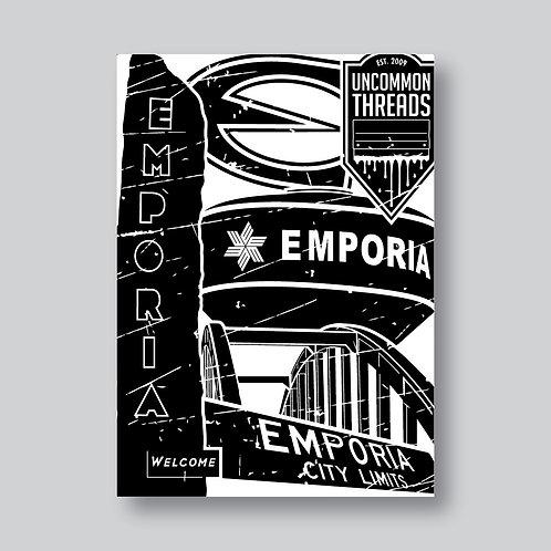 Emporia Landmark Postcard