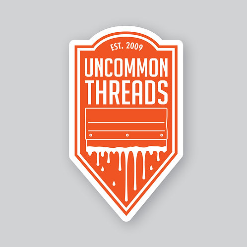 Uncommon Threads Sticker