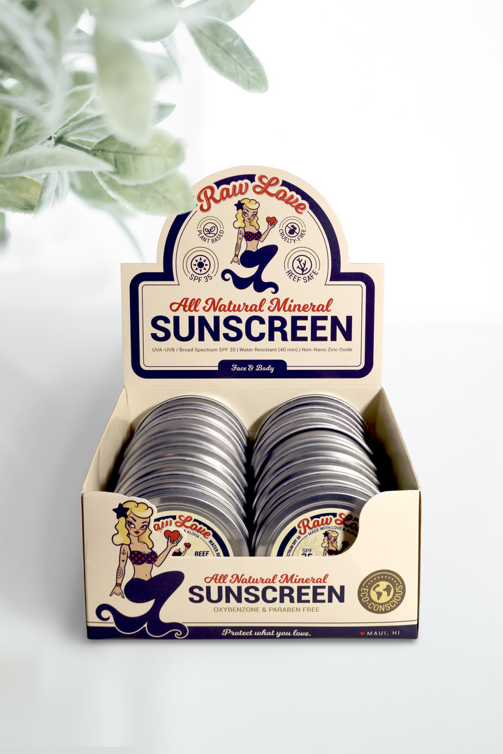 Raw Love Sunscreen