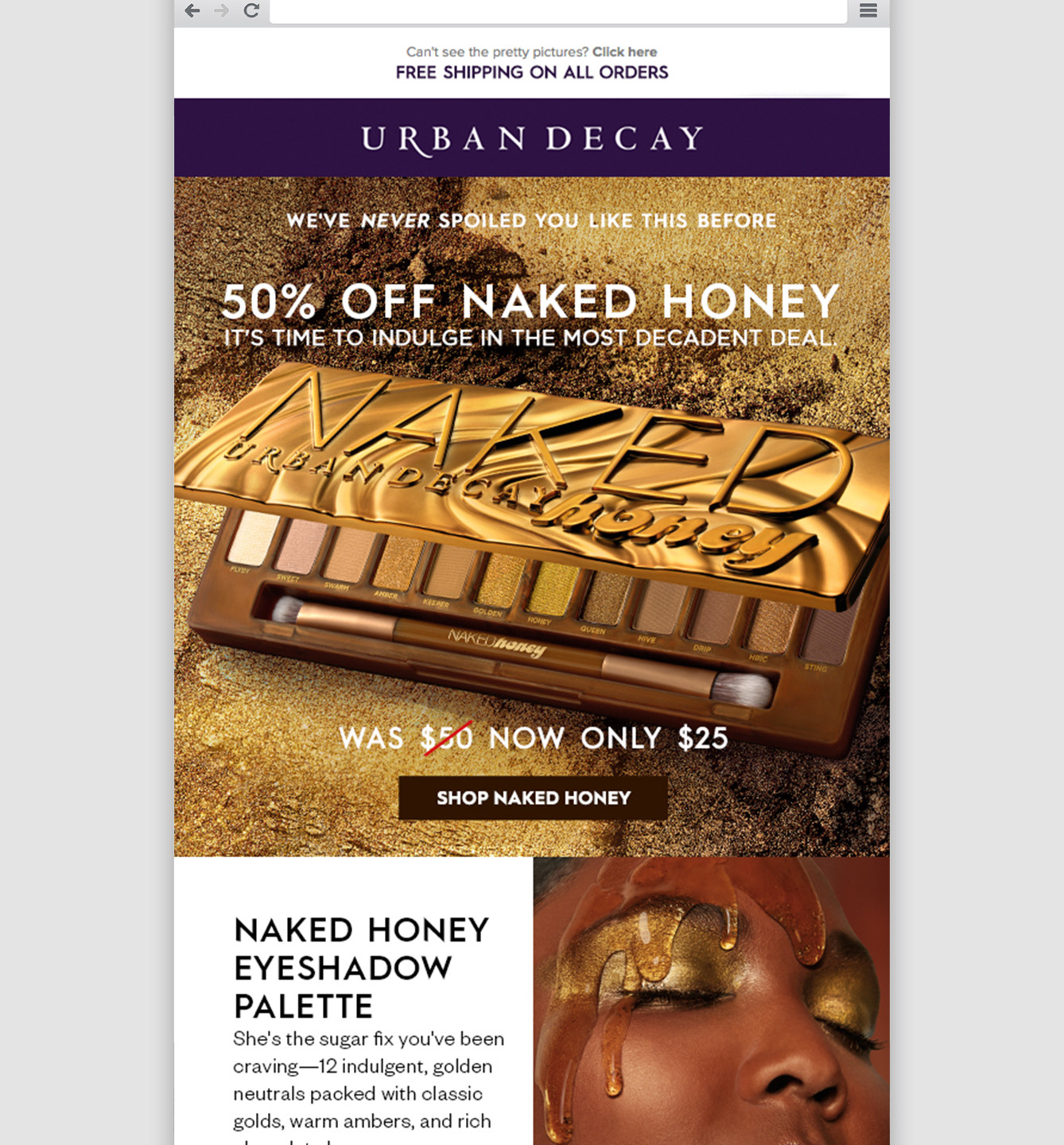 Naked Honey Email
