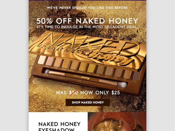 Naked Honey Email