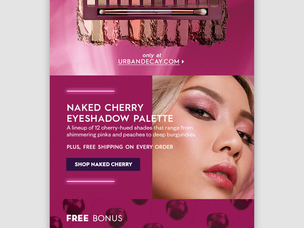 Naked Cherry Email