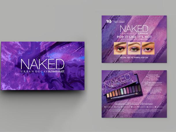 Naked UV Mailer & Label