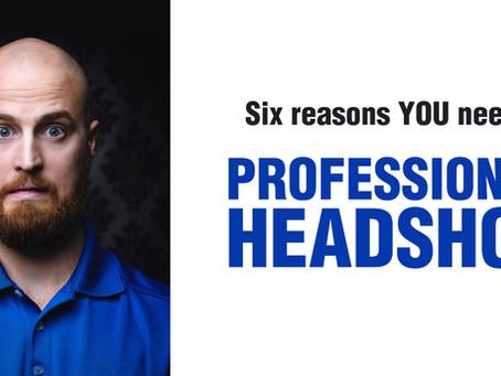 Six reasons you need a professional headshot