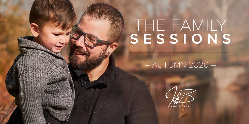 Autumn Family Sessions -Silver Package-