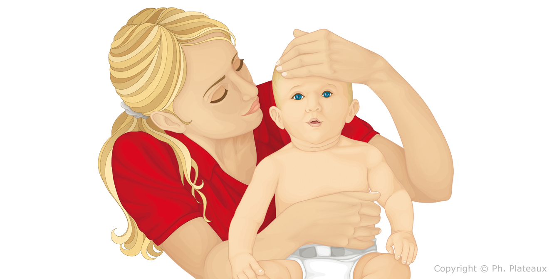 illustration médicale puériculture
