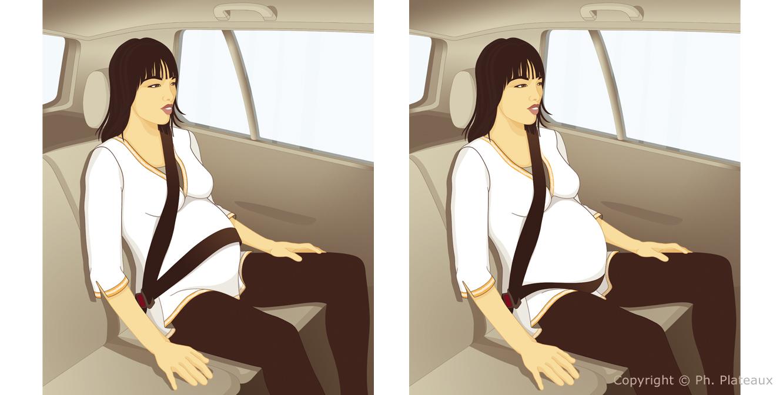 illustration grossesse