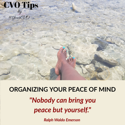 Organizing for peace of Mind
