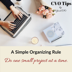 Simple Organizing Rule