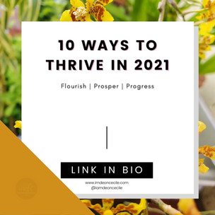 10 Ways To Thrive In 2021