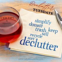 Declutter Tuesday 001