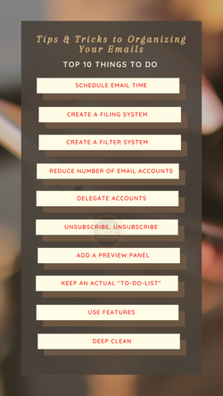 Tips & Tricks to Organizing Your Emails