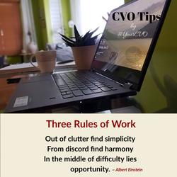 Three Rules of Work
