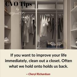 Clean that closet