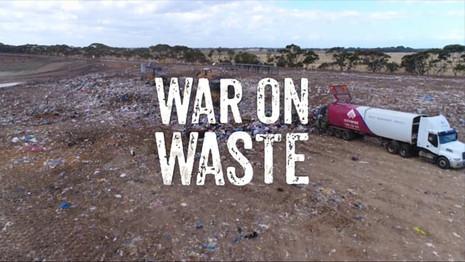 War On Waste - Logo