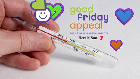 Good Friday Appeal - Thermometer