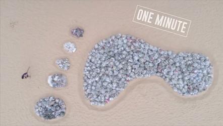 War On Waste - Footprints In Sand