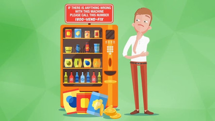 Behave Yourself! - Vending Machine