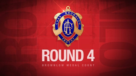 Brownlow Medal - Round By Round