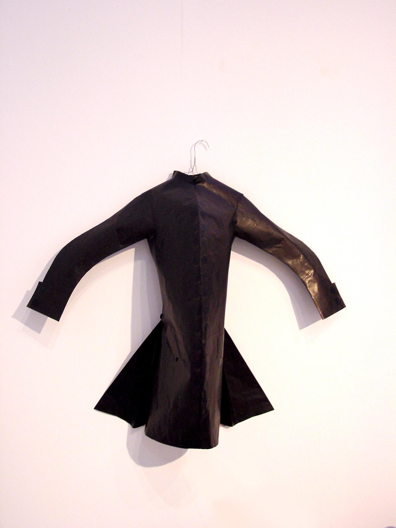 Costume papier noir
