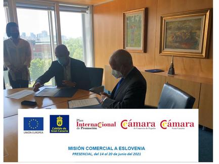 Acuerdo de colaboración entre la empresa tecnológicaeslovenaArctury Turismo Innova Gran Canaria.