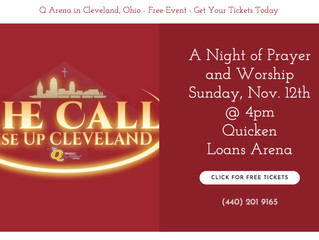 The Call to Rise up Cleveland
