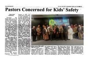 Pastors Concerned with Kids Safety