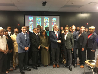 Senator Rob Portman with United Pastors in Mission