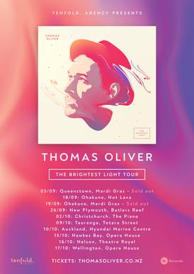THOMAS OLIVER, NZ TOUR