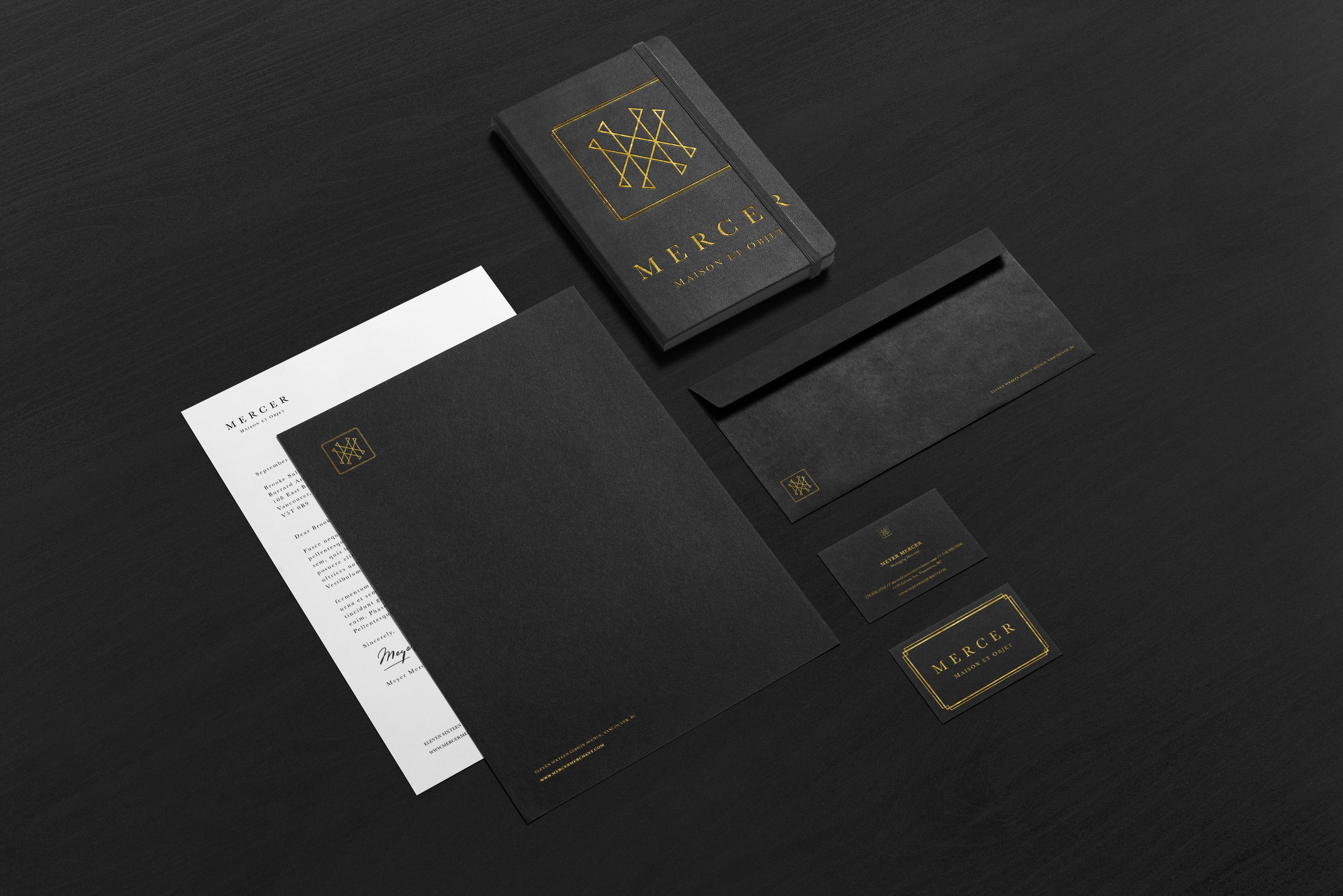 Monokrom | Mercer  Brand Mock Up