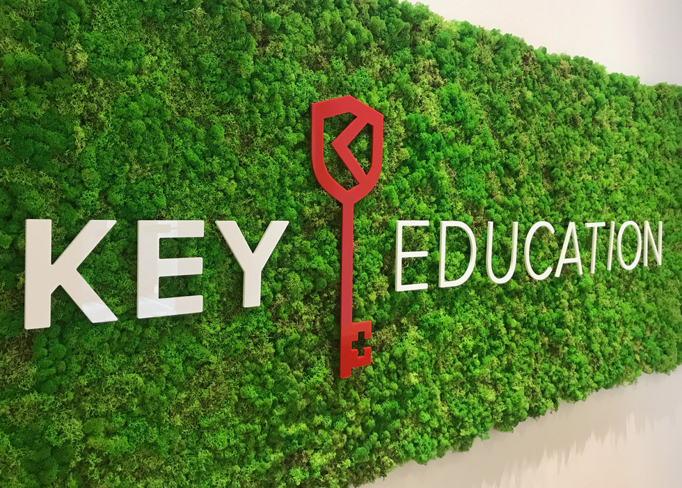Monokrom_Key Education Office Custom Signage