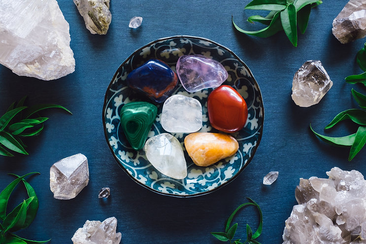 Reiki charged crystals from Good Vibes Hawaii.