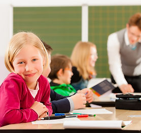 Girl In After School Program