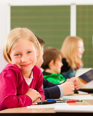Blond Student
