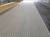 Accu-step grooved concrete
