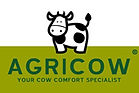 Agri Cow brush logo