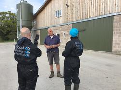Benchmarking UK robot dairy unit