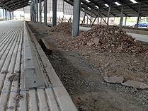 Installing CowPlan concrete kerb stones