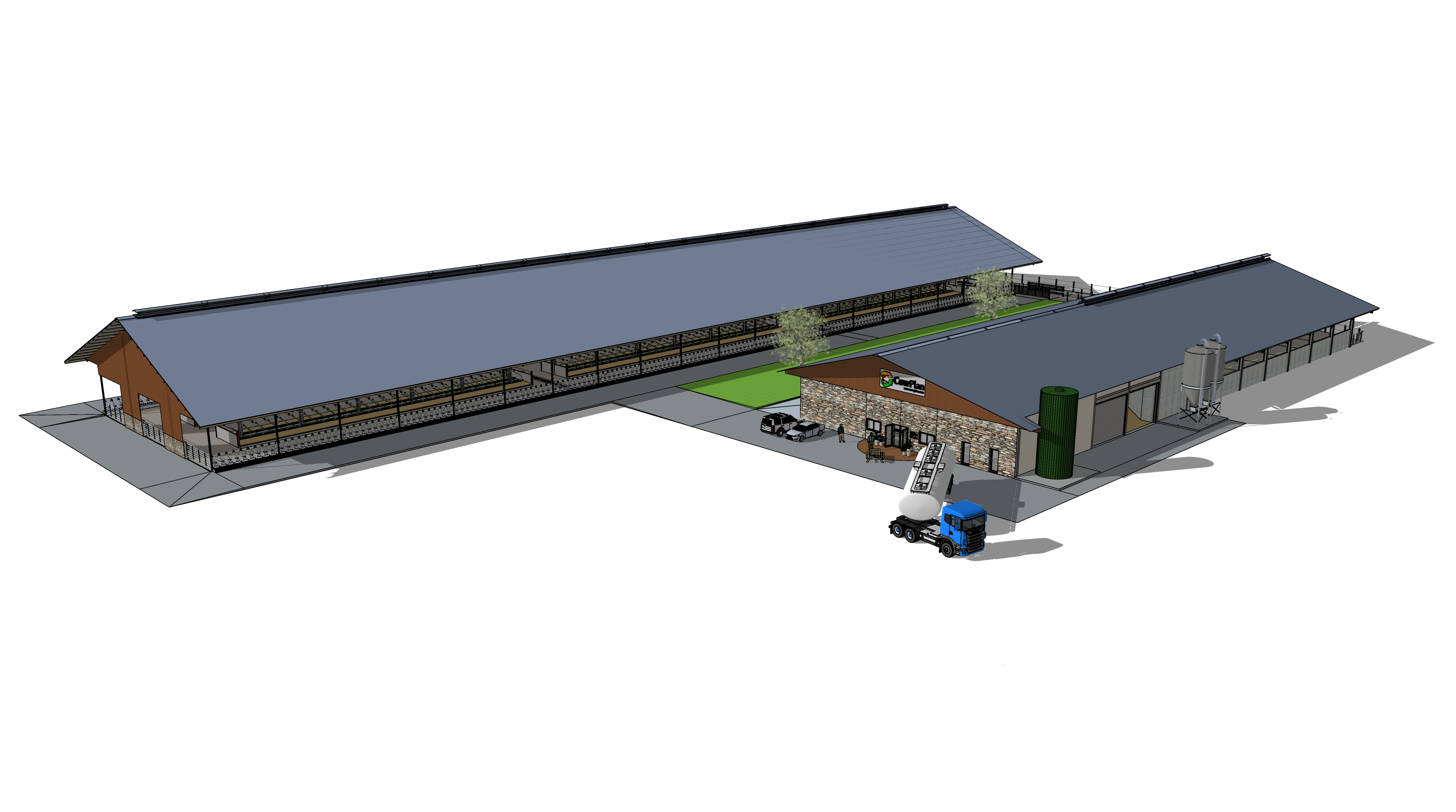 Beckside Dairy - 3D model