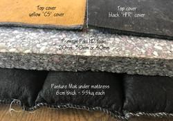 Pasture Mat cow mattress options